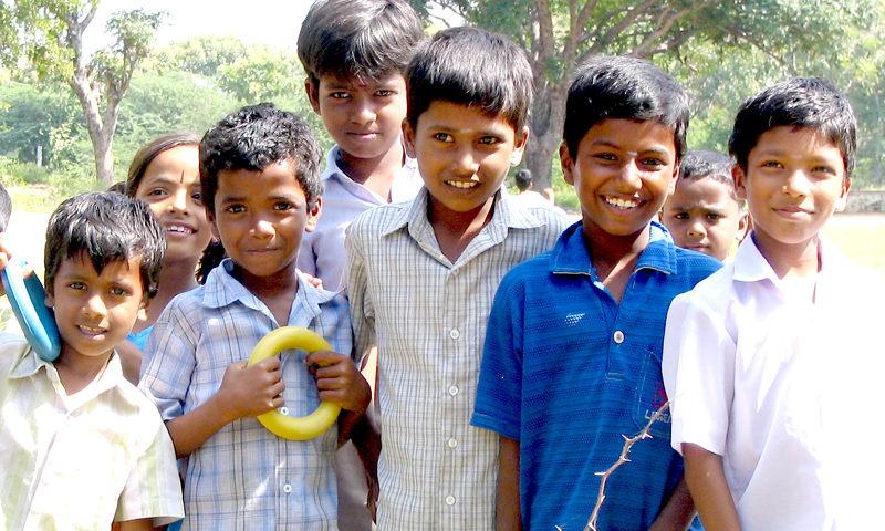 Kinder Asien